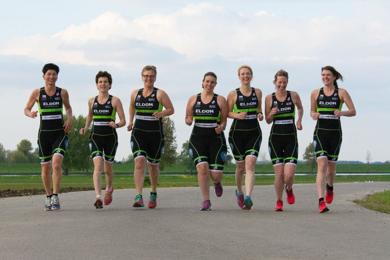 Teamfoto Dames - running